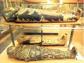 momies musee egyptien caire
